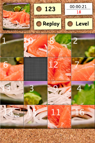 Screenshot Photo n-Puzzle Free